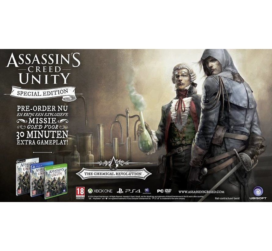 PS4 Assassin's Creed Unity Special Edition