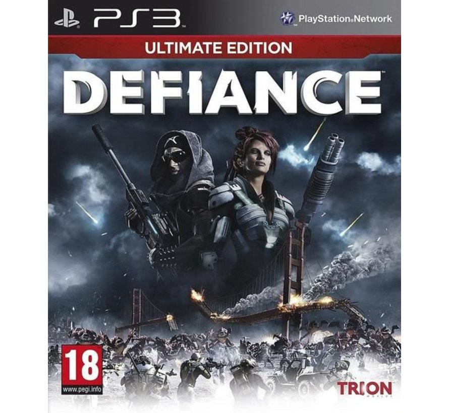 PS3 Defiance Limited Edition