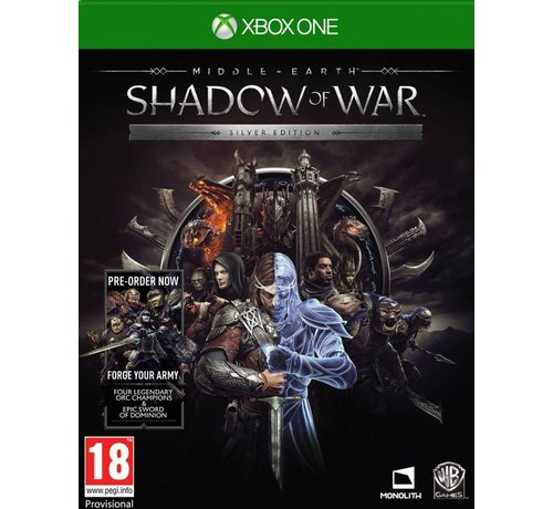 Warner Xbox One Middle-Earth: Shadow of War - Silver Edition kopen