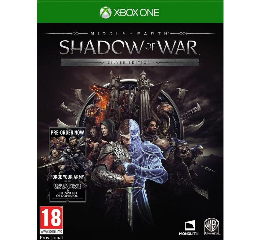 Xbox One Middle-Earth: Shadow of War - Silver Edition kopen