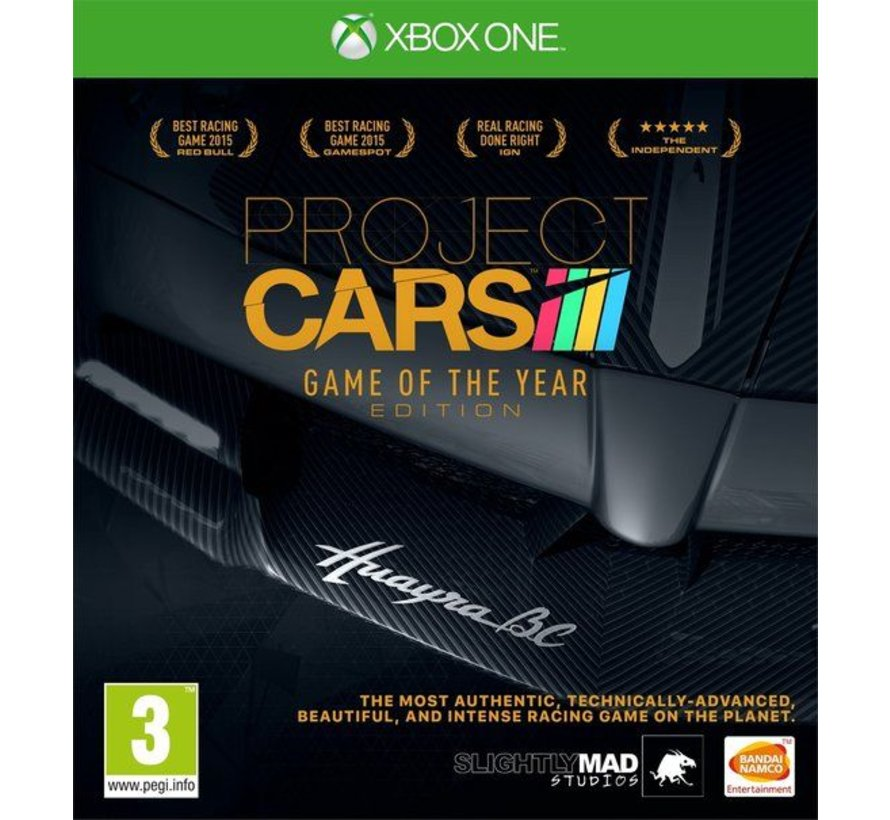 Xbox One Project Cars: Game of the Year Edition