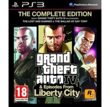 Take Two PS3 Grand Theft Auto IV (GTA 4) Complete Edition