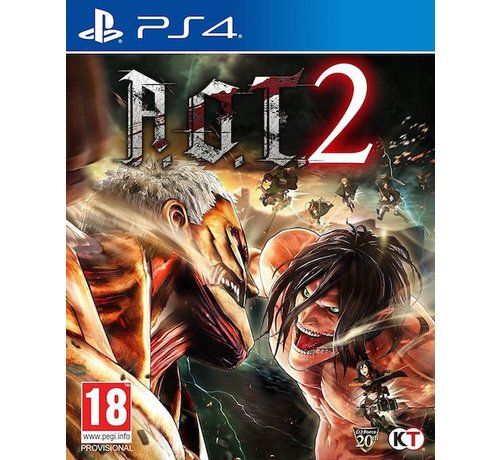 KT PS4 A.O.T. Attack on Titan 2 kopen