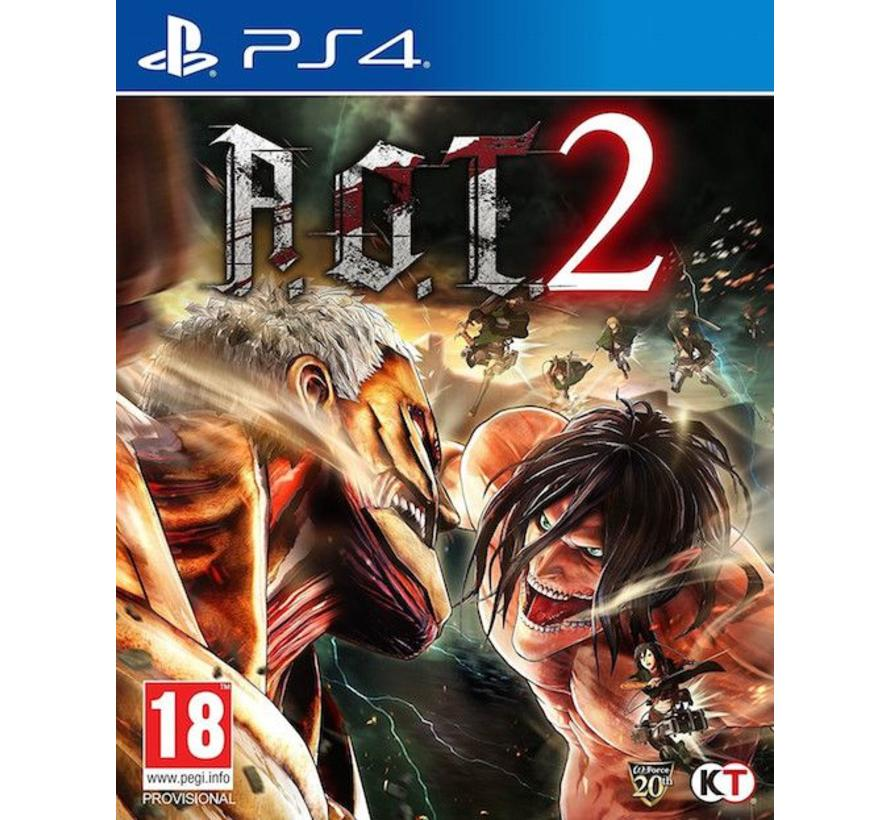 PS4 A.O.T. Attack on Titan 2