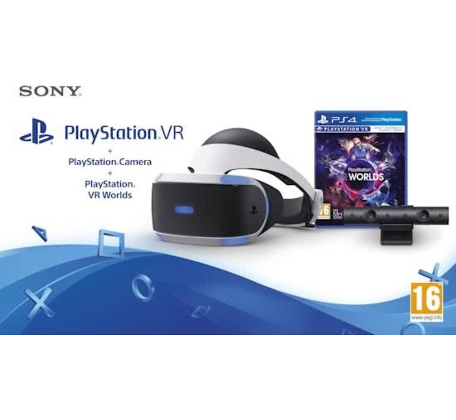 Sony PlayStation VR Bril + PS Camera + VR Worlds