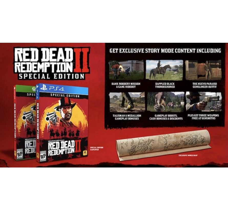 PS4 Red Dead Redemption 2 - Special Edition kopen