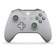 Microsoft Xbox One S Wireless Controller (grijs/groen)