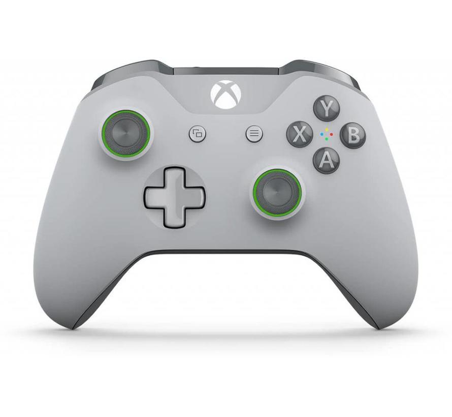 Xbox One S Wireless Controller (grijs/groen)
