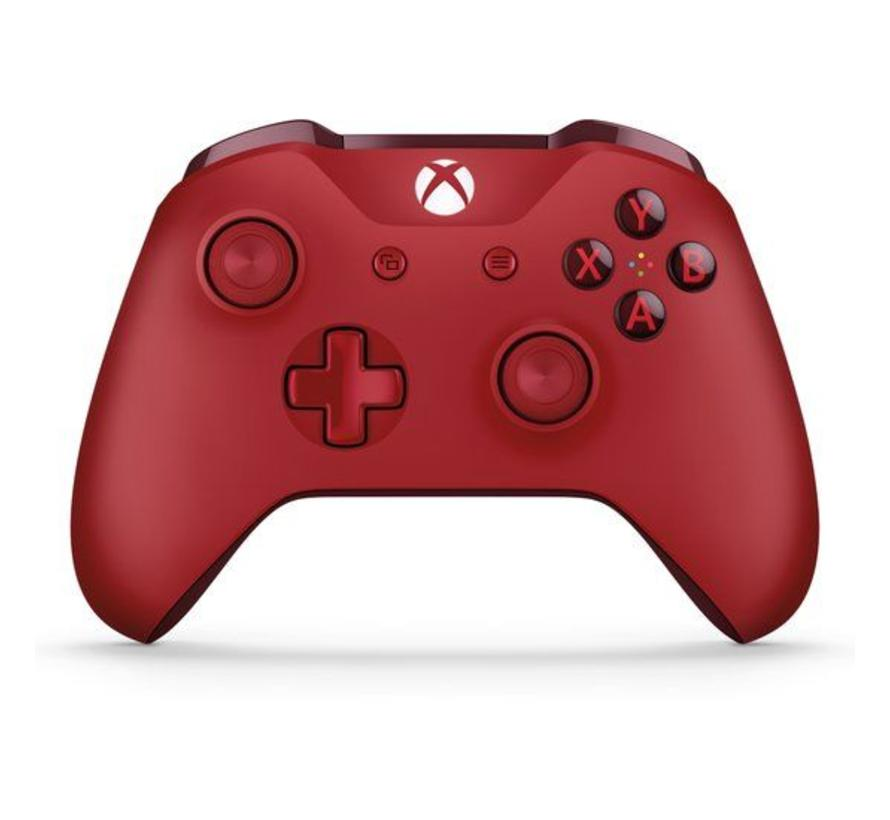 Xbox One S Wireless Controller (rood)