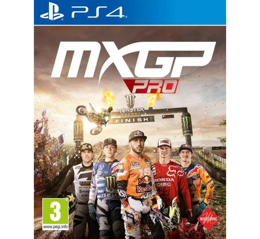 PS4 MXGP Pro: The Official Motocross Videogame