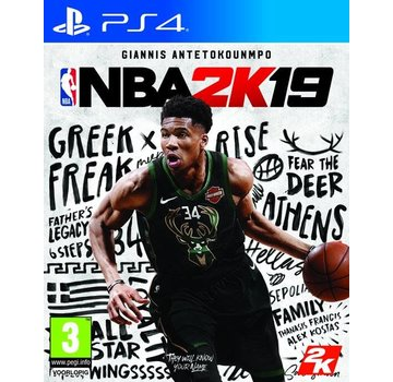 Take Two PS4 NBA 2K19