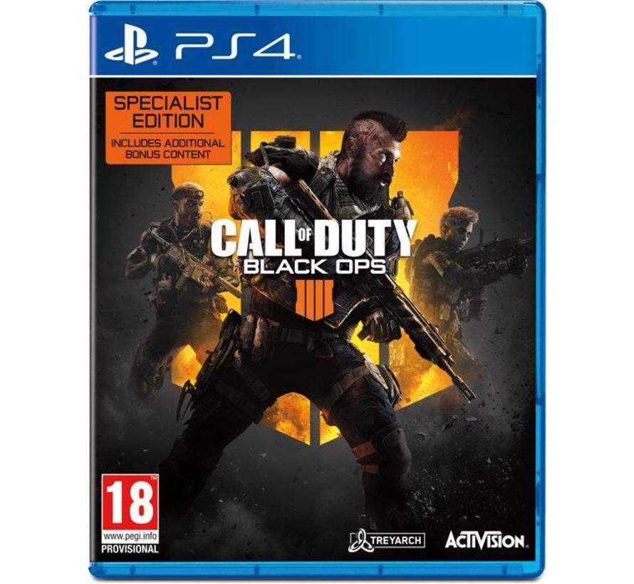 PS4 Call of Duty: Black Ops 4 - Specialist Edition