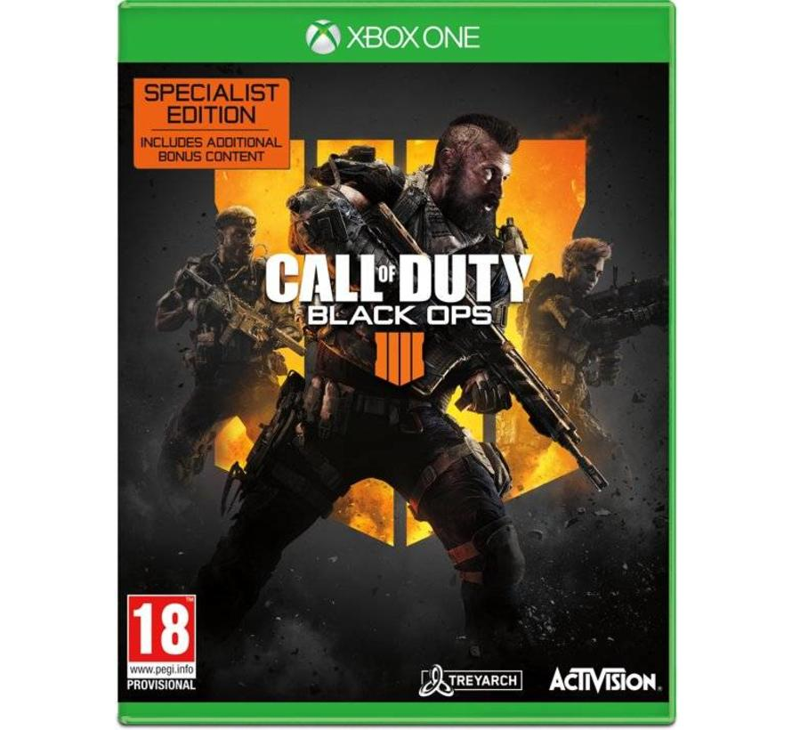 Xbox One Call of Duty: Black Ops 4 - Specialist Edition