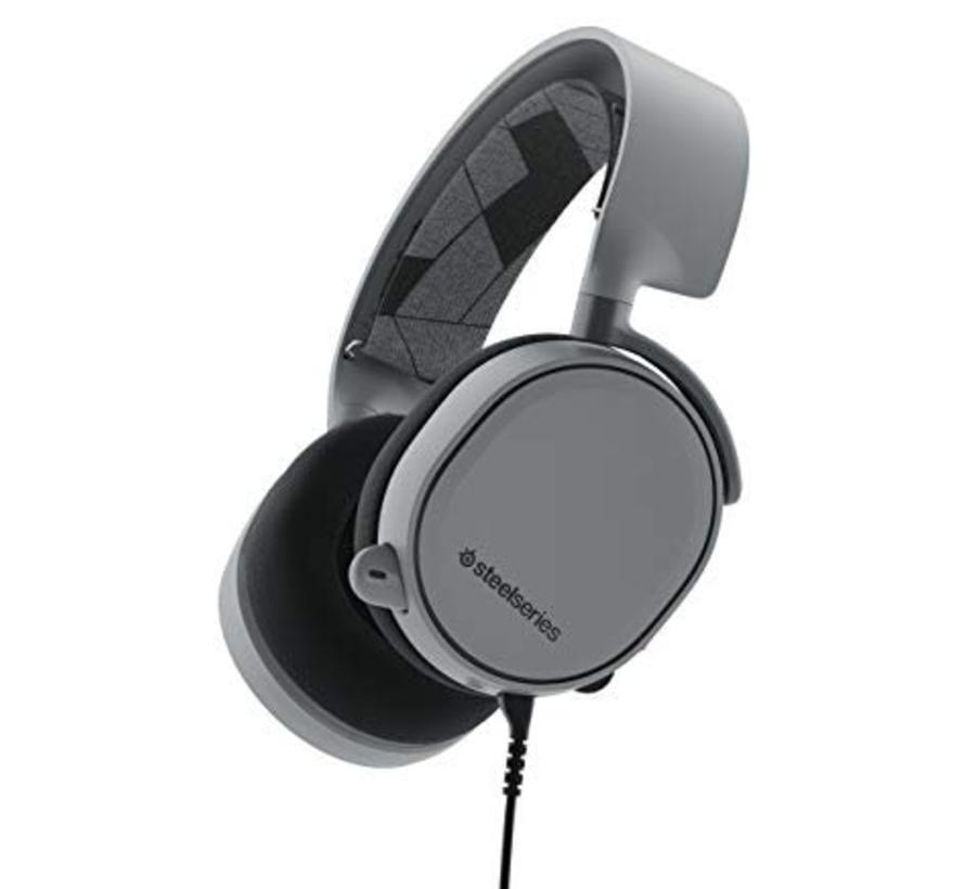 SteelSeries Arctis 3 Gaming Headset (Steel Grijs)