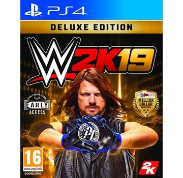 Take Two PS4 WWE 2K19 Deluxe Edition