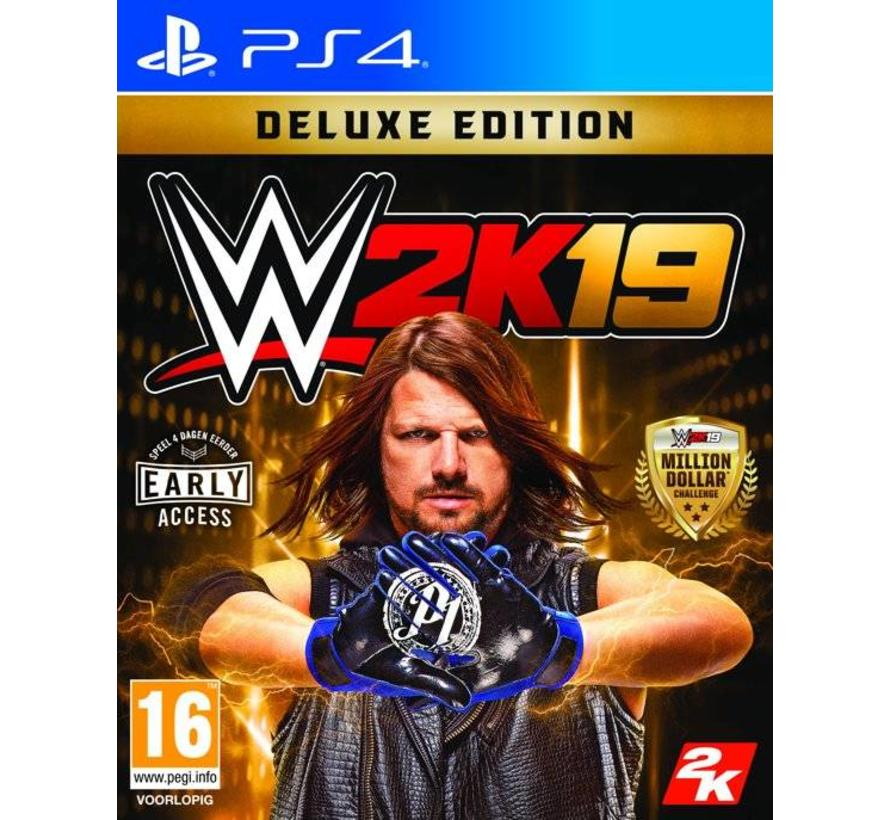 PS4 WWE 2K19 Deluxe Edition