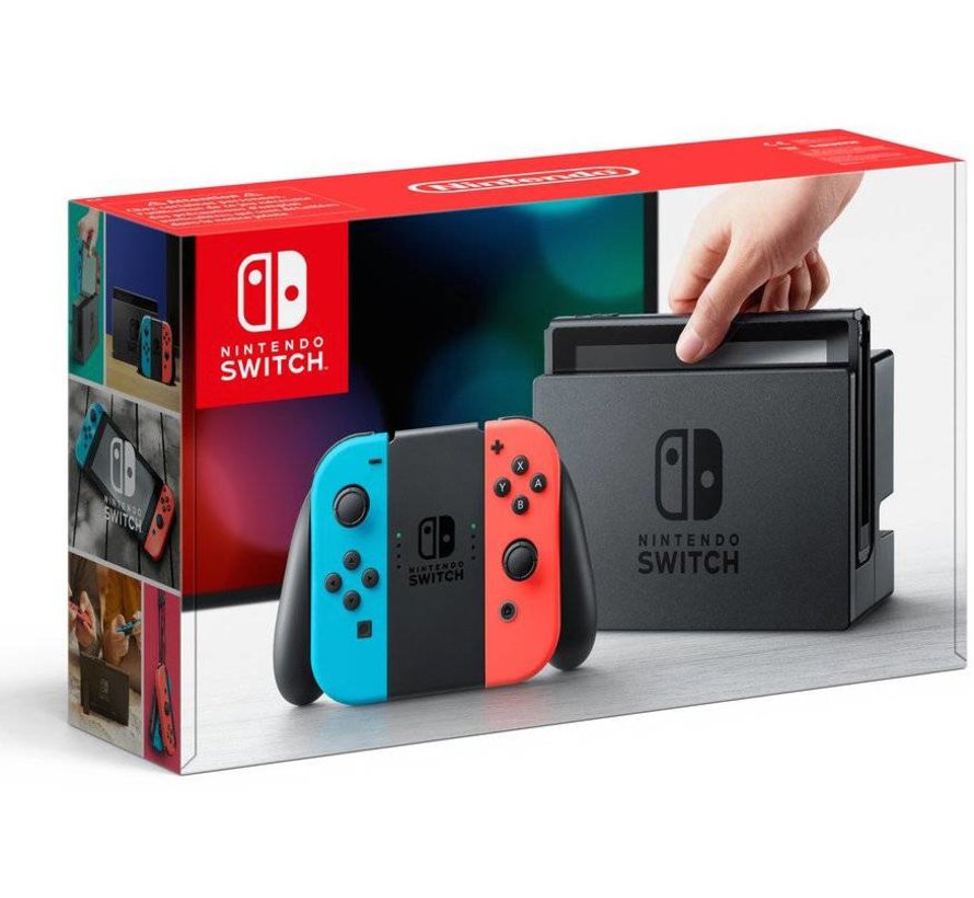 Nintendo Switch Console (Rood/Blauw)