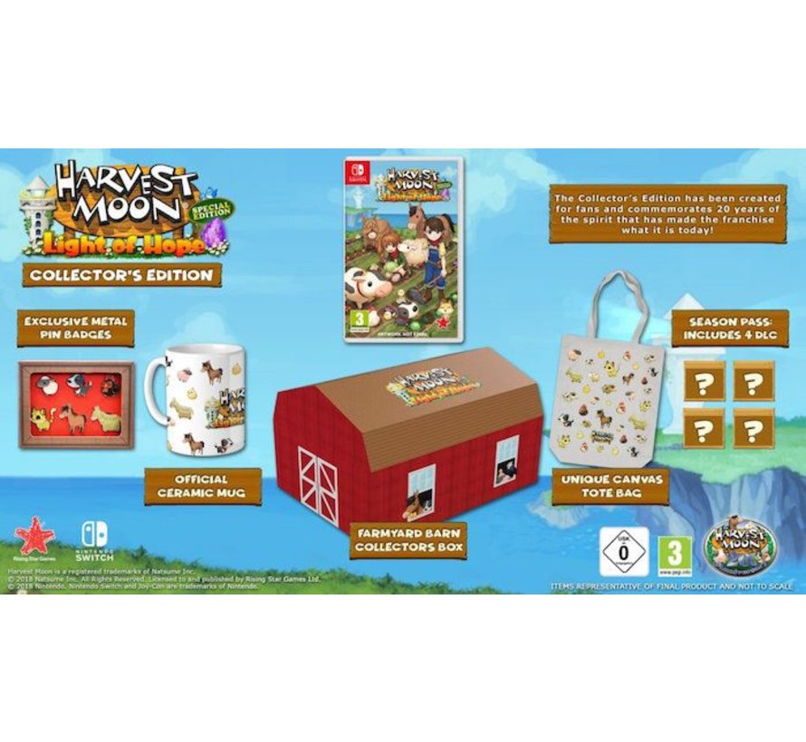 Nintendo Switch Harvest Moon: Light of Hope Collector's Edition
