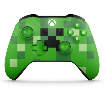 Microsoft Xbox One Wireless Controller Minecraft Creeper Green Limited Edition
