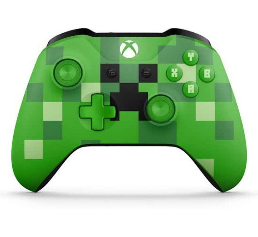 Xbox One Wireless Controller Minecraft Creeper Green Limited Edition
