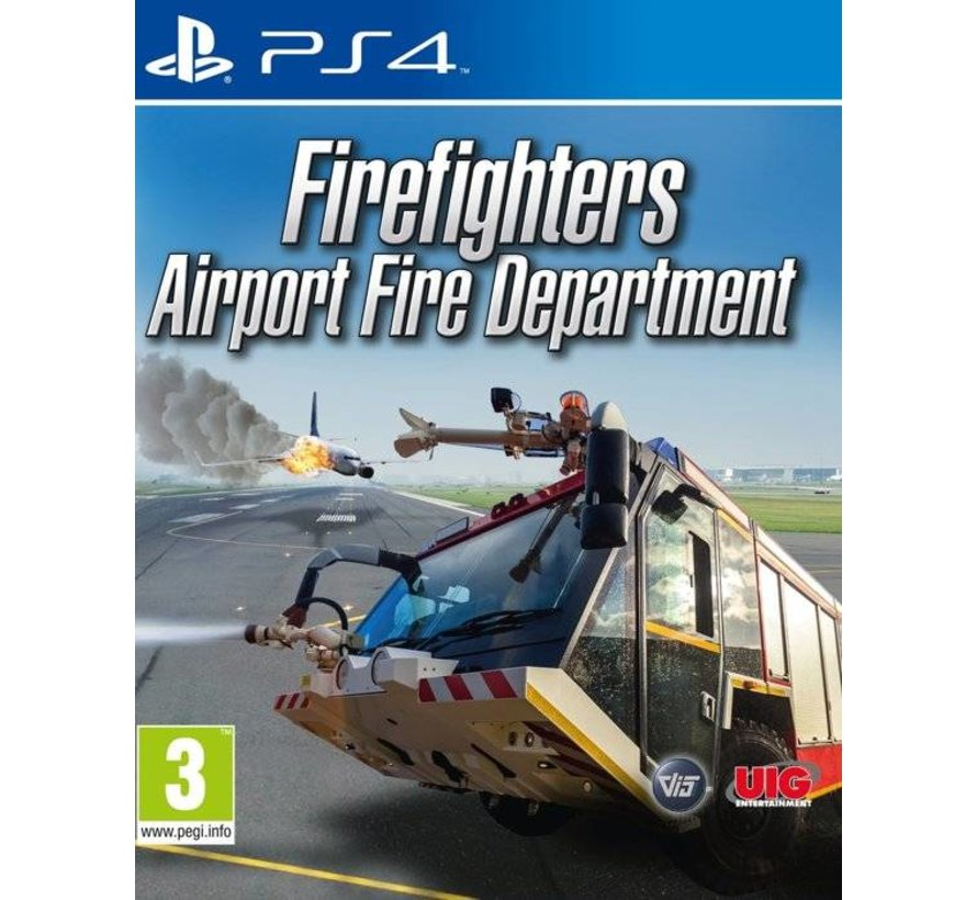 PS4 Firefighters: Airport Fire Department