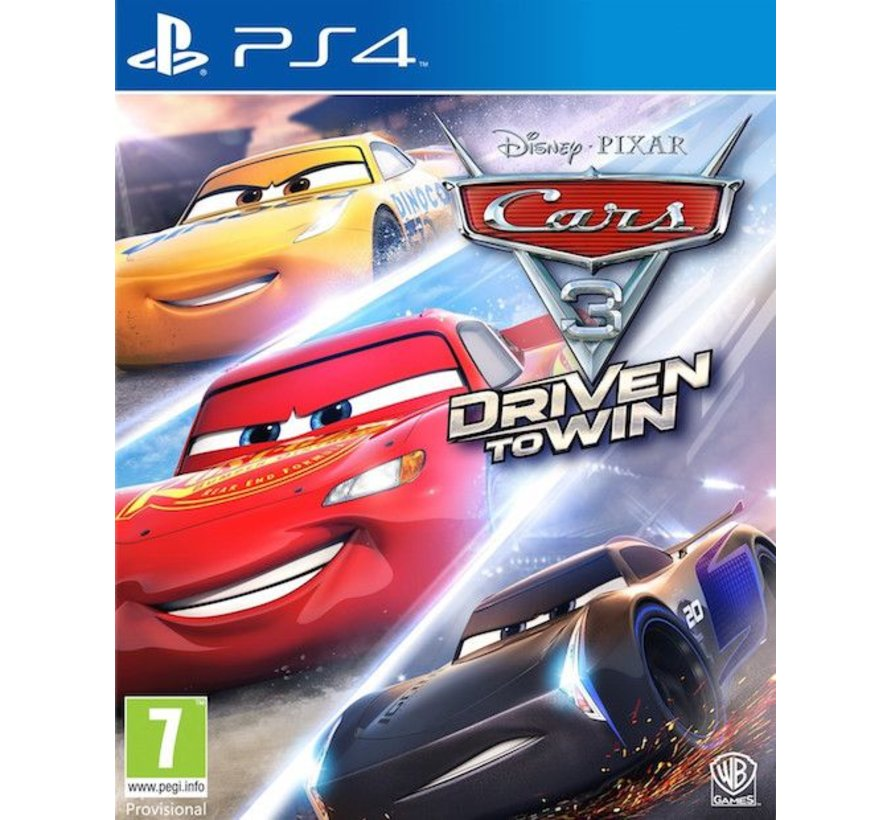 PS4 Cars 3: Driven to Win