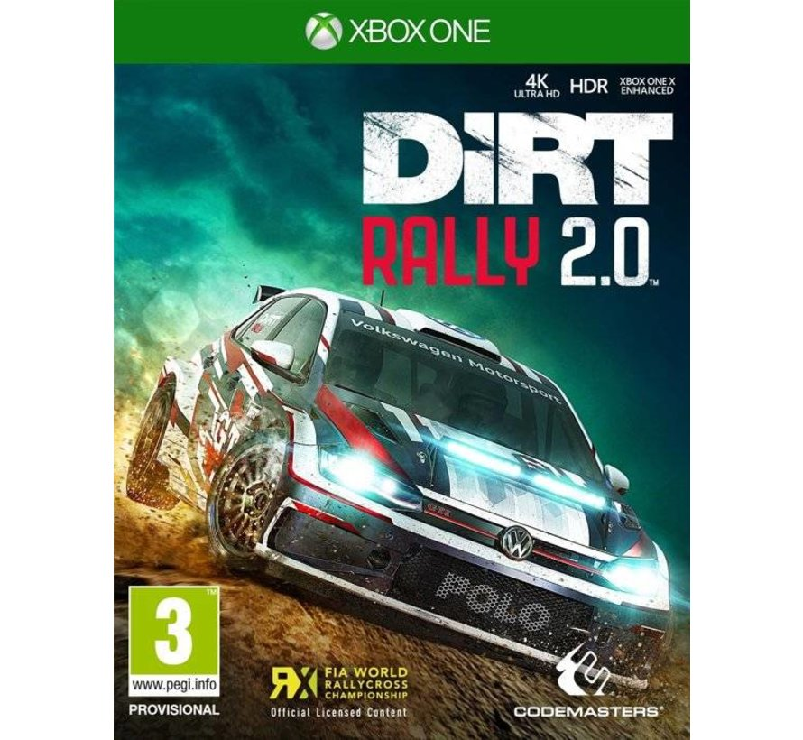 Xbox One DiRT Rally 2.0 Day One Edition