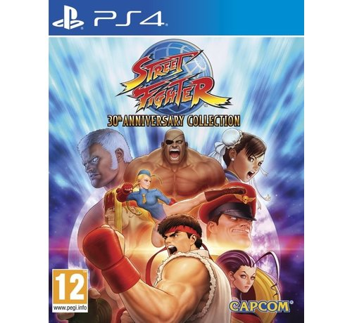 Capcom PS4 Street Fighter 30th Anniversary Collection kopen