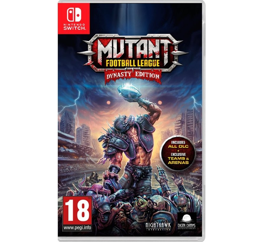 Nintendo Switch Mutant Football League: Dynasty Edition