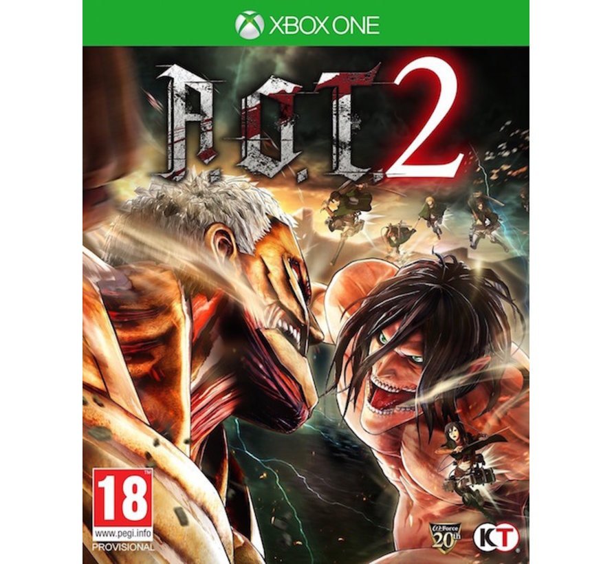 Xbox One A.O.T. Attack on Titan 2