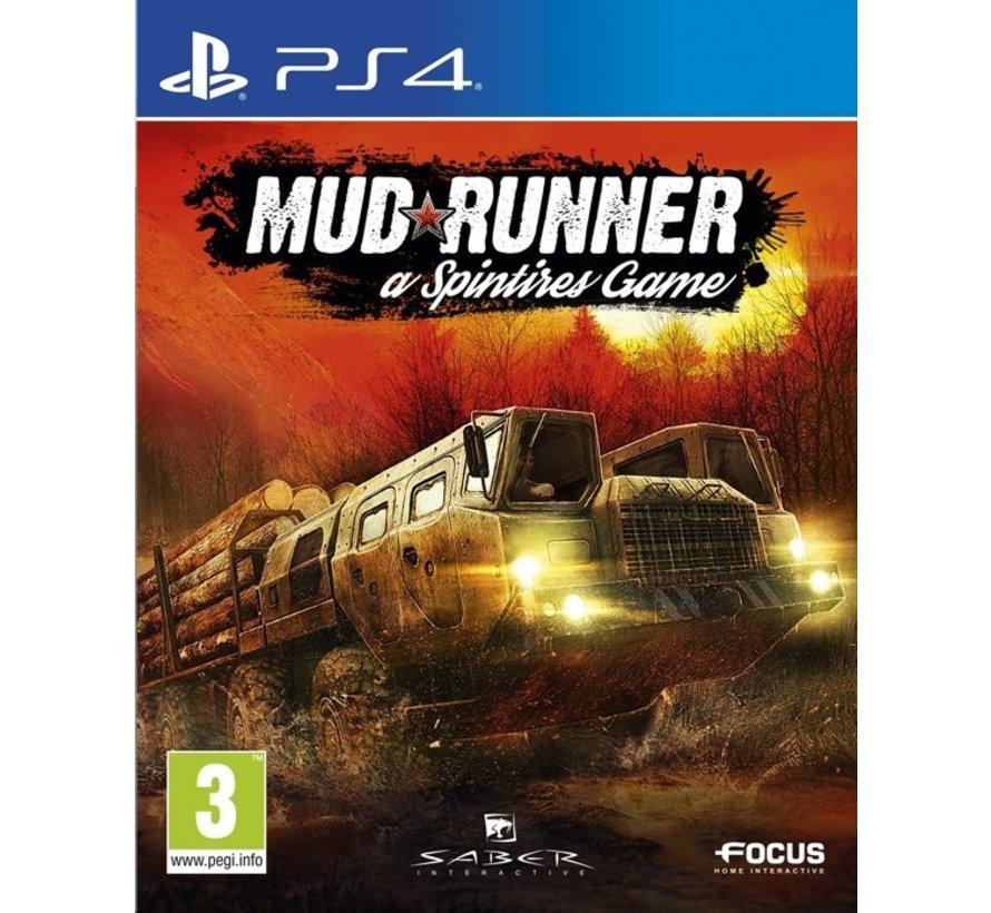 PS4 Spintires: MudRunner
