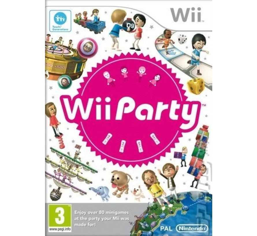 Nintendo Wii Wii Party