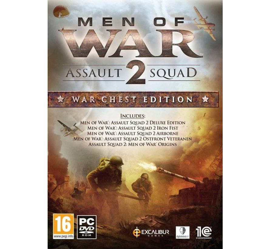 PC Men of War: Assault Squad 2 - War Chest Edition