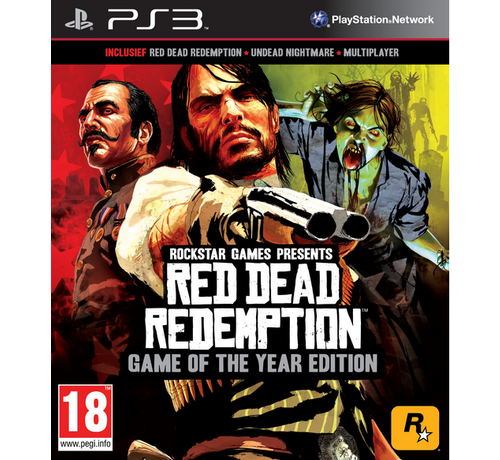 Take Two PS3 Red Dead Redemption Game Of The Year Edition