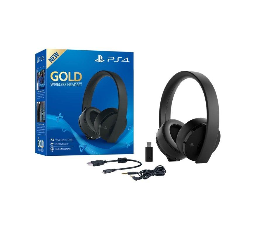 Sony Wireless 7.1 Headset (Zwart) - Gold Edition