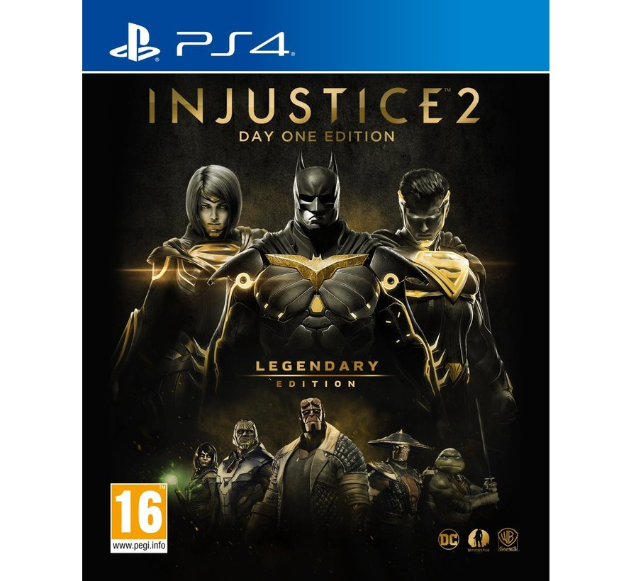 PS4 Injustice 2 - Legendary Edition (Day One Edition)