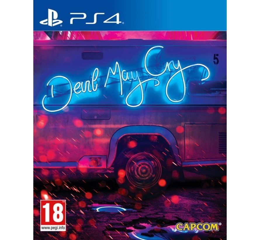 PS4 Devil May Cry 5 Deluxe Steelbook Edition