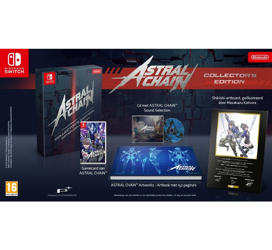 Nintendo Switch Astral Chain - Collector's Edition
