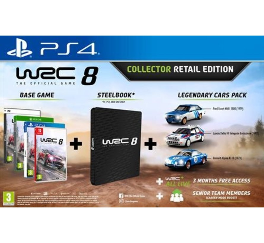 PS4 WRC: FIA World Rally Championship 8 - Collector Retail Edition