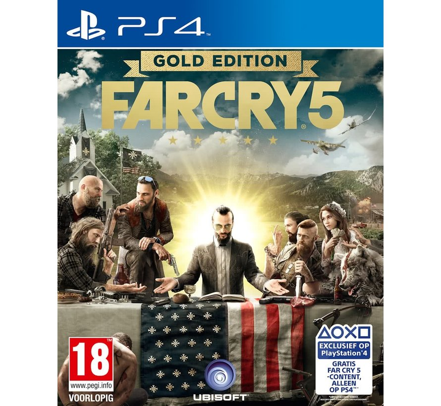 PS4 Far Cry 5 - Gold Edition