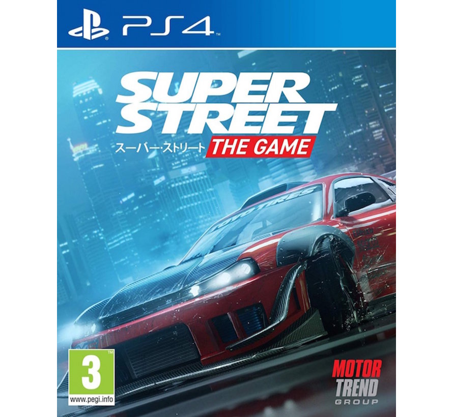 PS4 Super Street: The Game