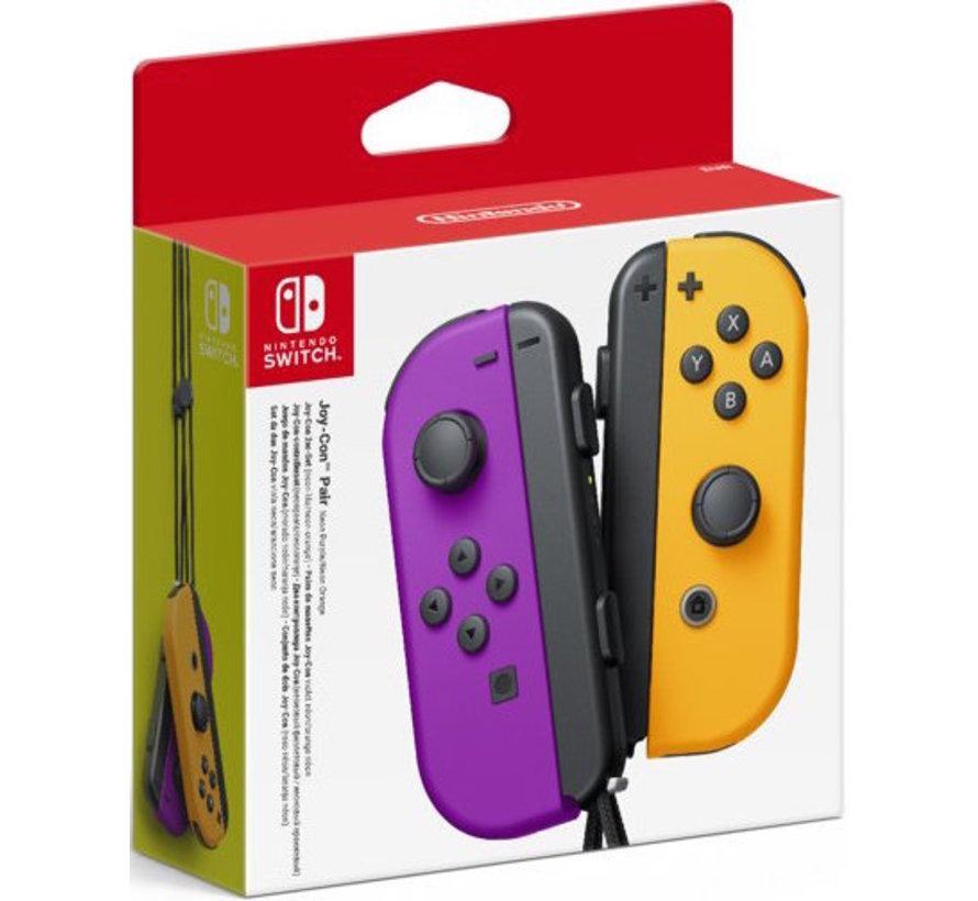 Nintendo Switch Joy-Con Controllers Paar (paars/oranje)