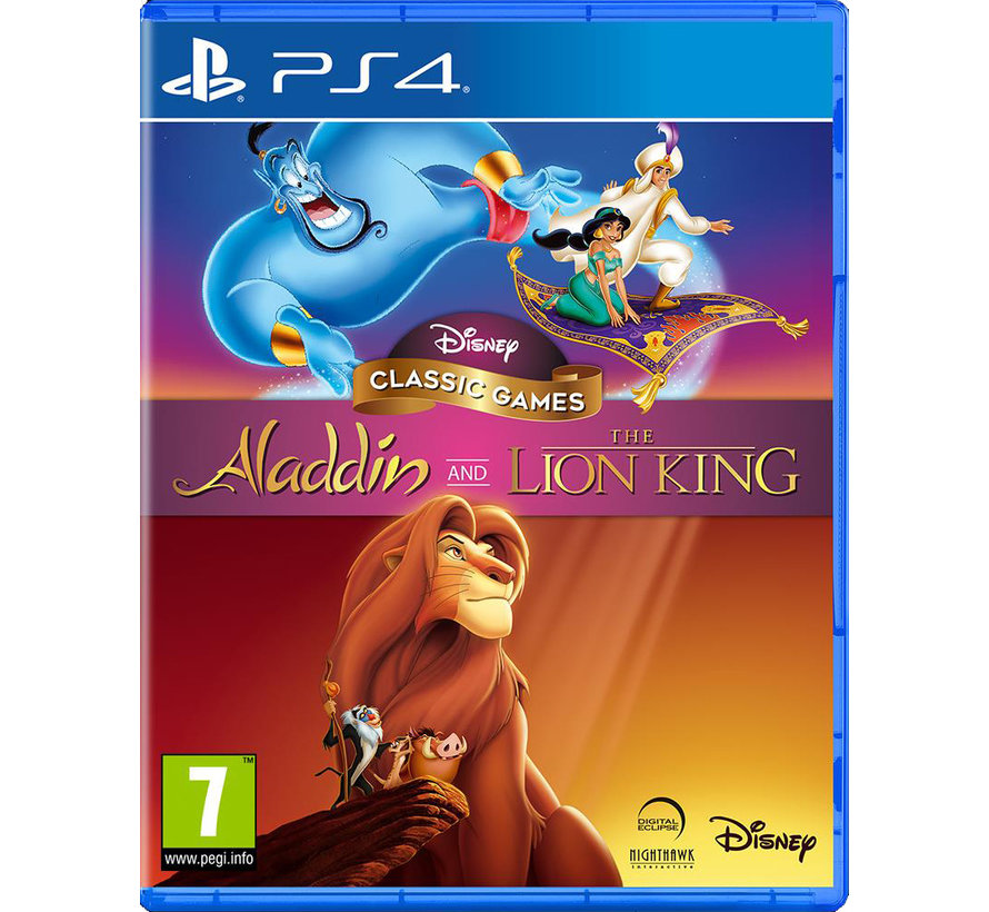 PS4 Disney Classic Games: Aladdin and The Lion King