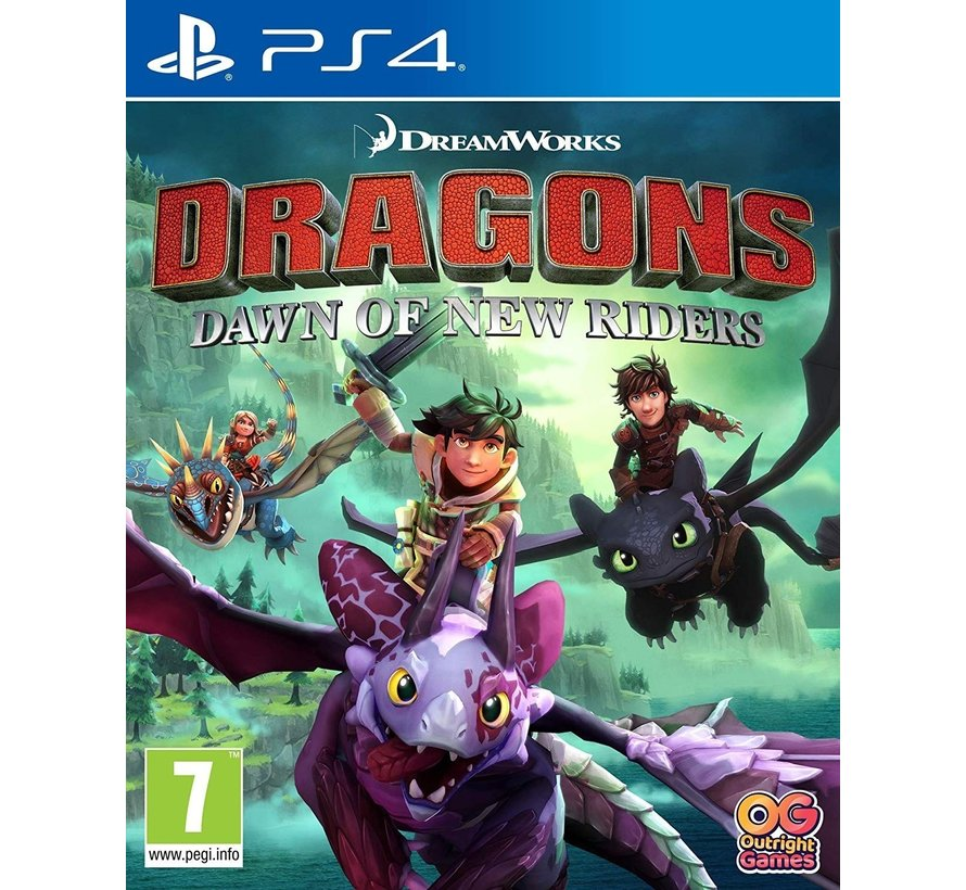 PS4 Dragons: Dawn of New Riders
