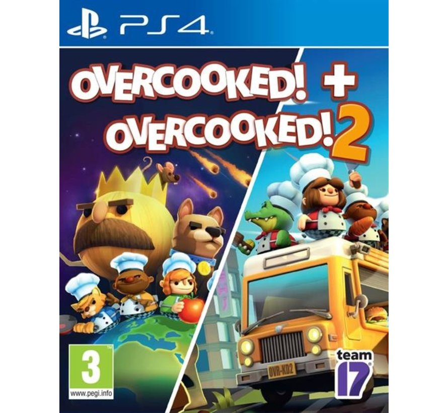 PS4 Overcooked! 1 & 2 Double Pack