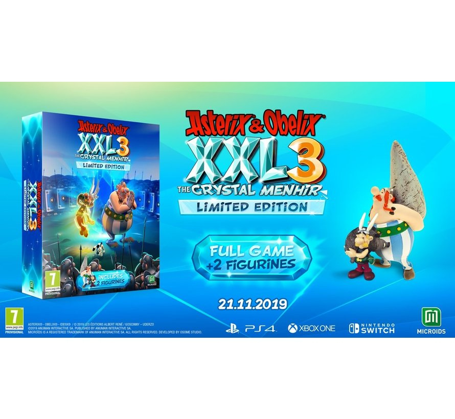 PS4 Asterix & Obelix XXL 3: The Crystal Menhir - Limited Edition kopen