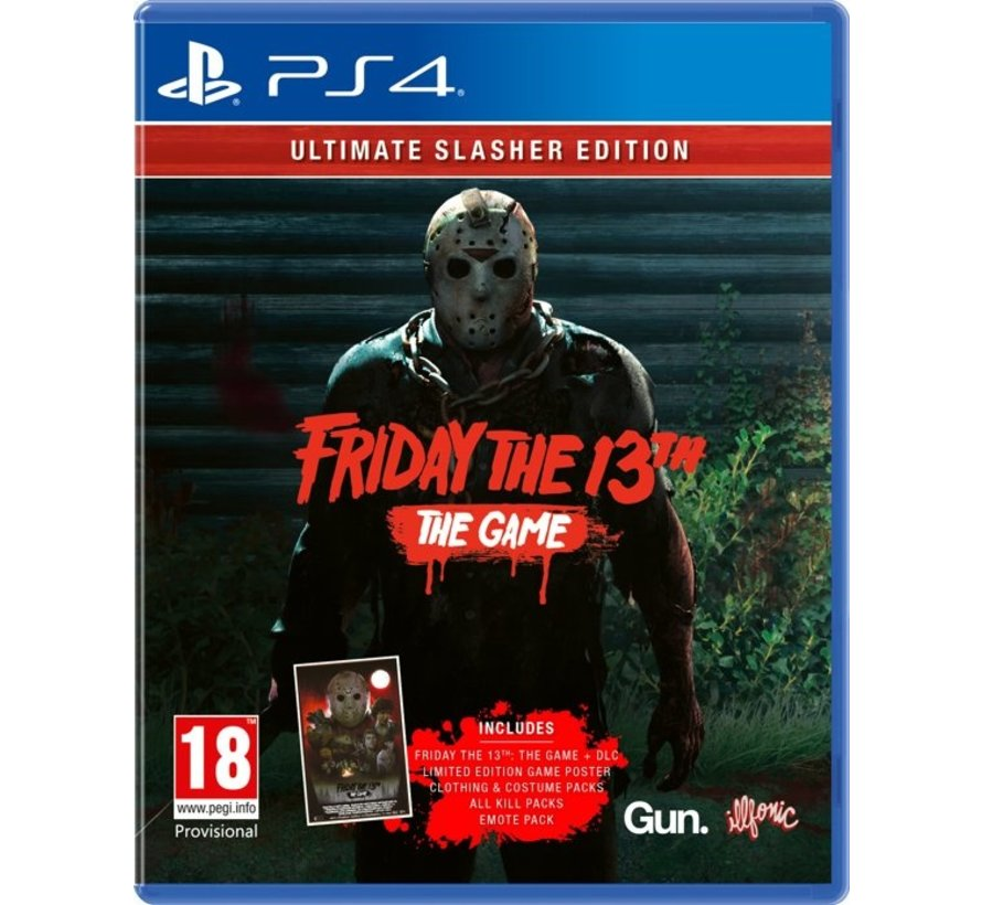 PS4 Friday the 13th: The Game - Ultimate Slasher Edition kopen