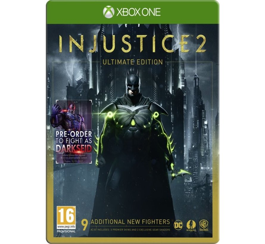 Xbox One Injustice 2 Ultimate Edition