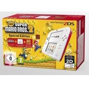 Nintendo Nintendo 2DS wit/rood + New Super Mario Bros. 2
