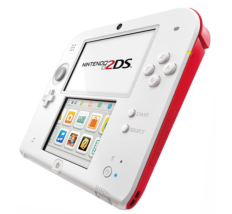 Nintendo 2DS wit/rood + New Super Mario Bros. 2 kopen